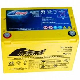 Batería Arranque Full River Agm HC14V50 14V 50Ah