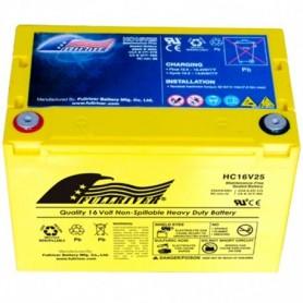 Batería Arranque Full River Agm HC16V25 16V 25Ah