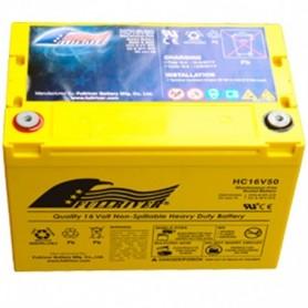 Batería Arranque Full River Agm HC16V50 16V 50Ah