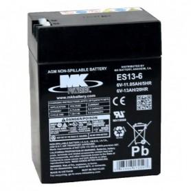 Batería Agm Mk ES13-6 6V 13Ah