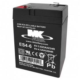 Batería Agm Mk ES4-6 6V 4,5Ah