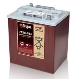 Batería Tracción Trojan TE35 GEL 6V 210Ah