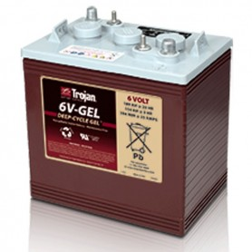 Batería Tracción Trojan 6V GEL 6V 189Ah