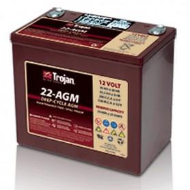 Batería Tracción Trojan 22 AGM 12V 50Ah