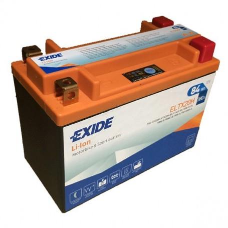 Batería Moto Exide Litio Ion ELTX20H 84W 380AH