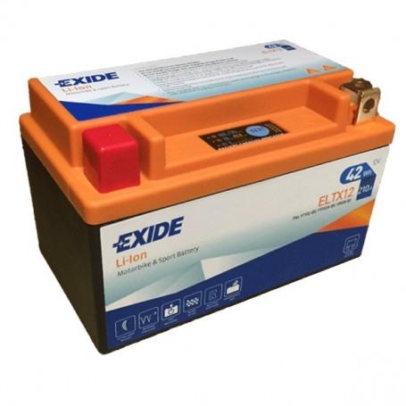 Batería Moto Exide Litio Ion ELTX12 42W 210AH