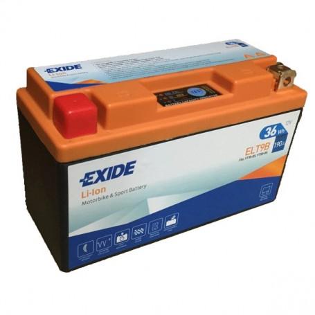 Batería Moto Exide Litio Ion ELTB9 36W 190AH
