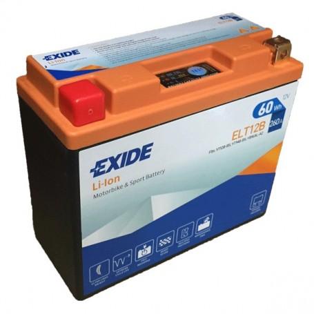 Batería Moto Exide Litio Ion ELT12B 60W 260AH