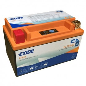 Batería Moto Exide Litio Ion ELTX14H 48W 240AH