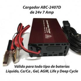 Cargador Baterías Alta Frecuencia ABC2407 7AH