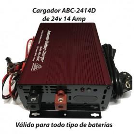 Cargador Baterías Alta Frecuencia ABC2414 14AH