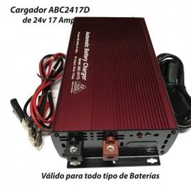 Cargador Batería Alta Frecuencia ABC2417 17AH
