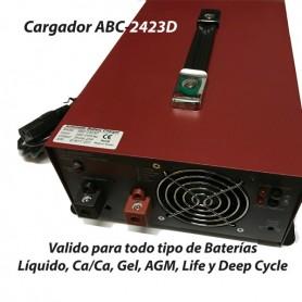 Cargador Baterías Alta Frecuencia ABC2423/M/D 12AH