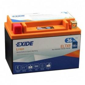 Batería Moto Exide Litio Ion ELTX9 36W 180AH