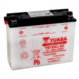 Batería Moto Yuasa YB16ALA2 12V 16Ah