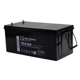 Batería Solar Q Batteries Agm 12LCP225 12V 243AH