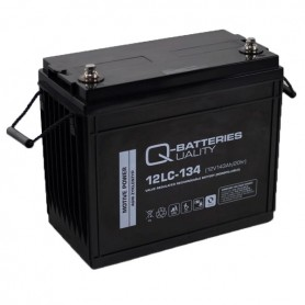 Batería Solar Q Batteries Agm 12LCP134 12V 143AH