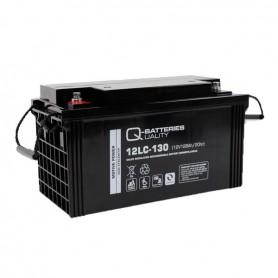Batería Solar Q Batteries Agm 12LCP130 12V 128AH