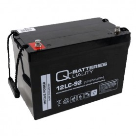 Batería Solar Q Batteries Agm 12LCP92 12V 93AH