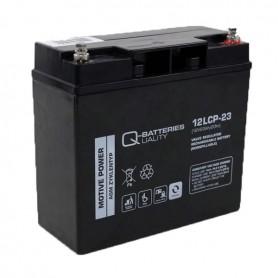 Batería Solar Q Batteries Agm 12LCP23 12V 23AH