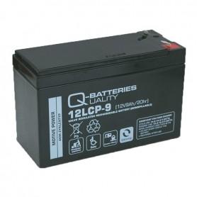 Batería Solar Q Batteries Agm12LCP9 12V 9AH