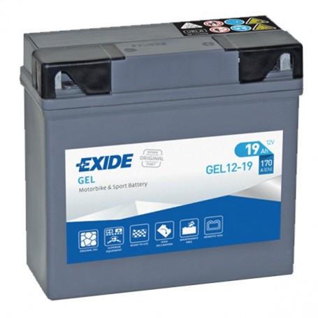 Batería Moto Bmw Exide Gel G19 12V 19AH