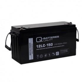 Batería Solar Q Batteries Agm 12LCP150 12V 150AH