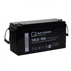 Batería Solar Q Batteries AGM 12LC-150 12V 150AH