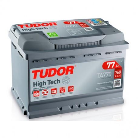 Batería Coche Tudor TA770 12V 77AH