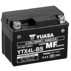Batería Moto Yuasa Agm YTX4LBS 12V 3Ah