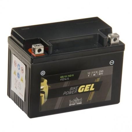 Batería Moto Intact Gel YTZ14S 12V 11.5ah 250en