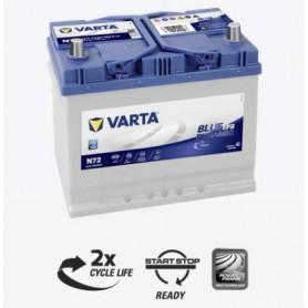 Batería Coche Nissan Qashqai VARTA N72 12V 70Ah Start Stop