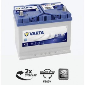 Batería Nissan Qashqai Start Stop Varta N72 12V 70Ah