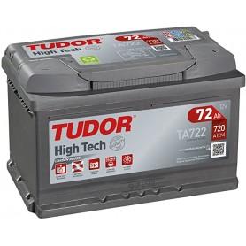 Batería Coche Tudor TA722 12V 72AH