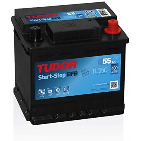 Batería Coche Tudor Efb TL550 12V 55Ah