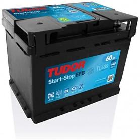 Batería Coche Tudor Efb TL600 12V 60Ah