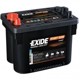 Batería Exide Agm EM1000 12V 50Ah