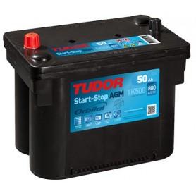 Batería Coche Tudor Agm TK508 12V 50Ah
