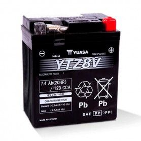 Batería Moto Yuasa Agm YTZ8V 12V 7Ah