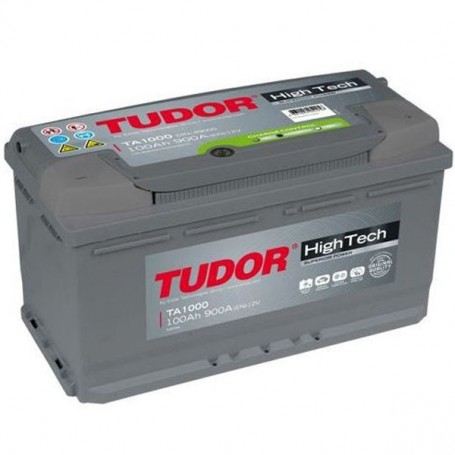 Batería Coche Tudor TA1000 12V 100Ah