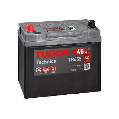 Batería Coche Tudor TB455 12V 45Ah