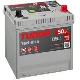 Batería Coche Tudor TB504 12V 50Ah