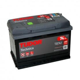 Batería Coche Tudor TB741 12V 74Ah