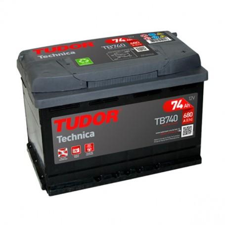Batería Coche Tudor TB740 12V 71Ah