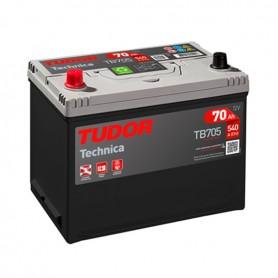 Batería Coche Tudor TB705 12V 70Ah