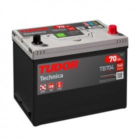Batería Coche Tudor TB704 12V 62Ah
