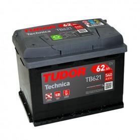 Batería Coche Tudor TB621 12V 62Ah
