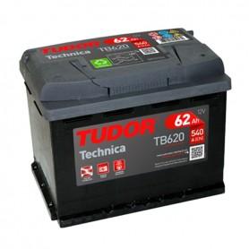 Batería Coche Tudor TB620 12v 62Ah