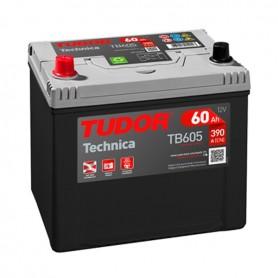 Batería Coche Tudor TB605 12V 60Ah