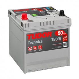 Batería Coche Tudor TB505 12V 50Ah